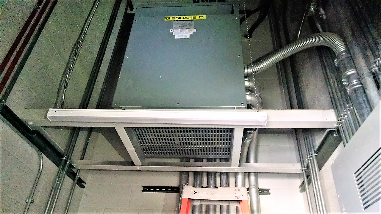 Montoursville HS – Elevated Transformer